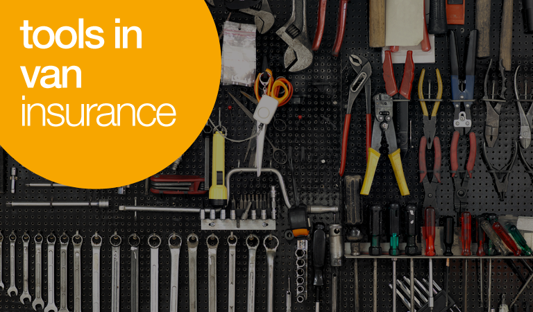 tools in van insurance