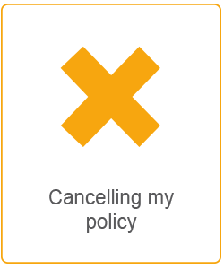 cancelling my policy
