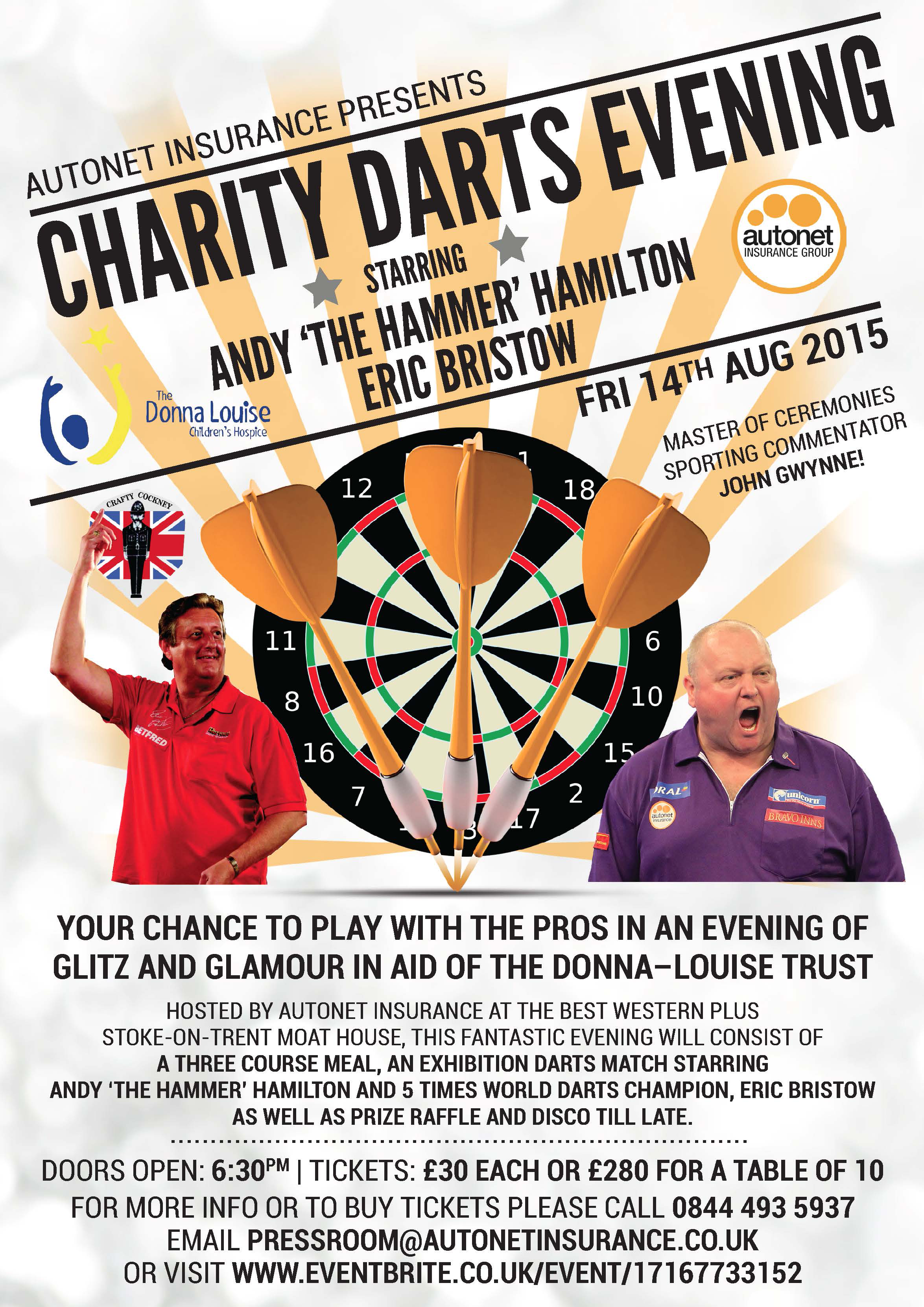 Charity Darts Evening